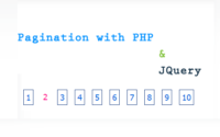 Pagination with jQuery, MySQL and PHP