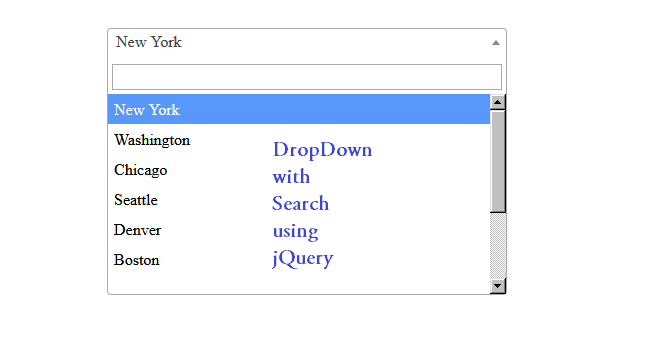 dropdown-with-serach-using-jquery