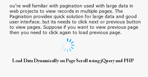 scroll page load data